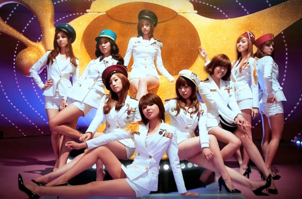 South Korean girl group Girls' Generation, 'Genie'