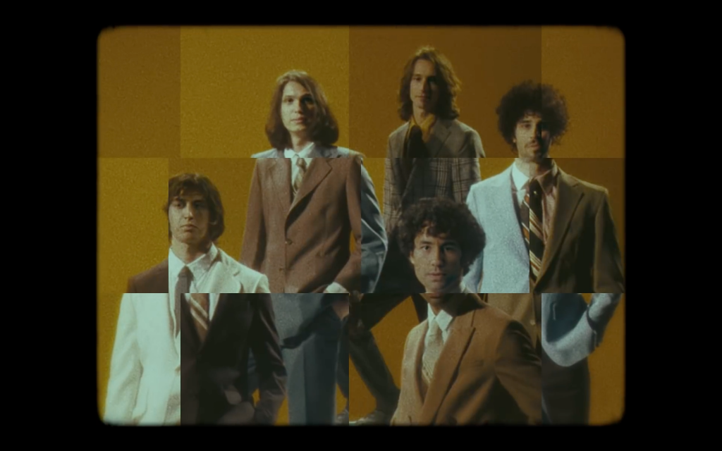 Video still from the music video for Bad Decisions by The Strokes.